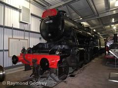 48773 (LMS 2-8-0 Stanier Class 8F) (Faversham 2009) Tags: highley 48773 svr severnvalleyrailway steam heritage train trains locomotive loco railway shropshire lms stanier 280 class 8f