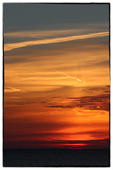 Sunset IJselmeer