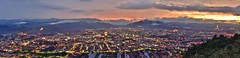 Panorama, Puli downtown,埔里虎頭山 (Vincent_Ting) Tags: 雲霧 南投縣 台灣 taiwan clouds light sky seaofclouds blue 藍調 sunrise 虎頭山 飛行傘 埔里飛行閃 夜景 foggy 迷霧 sunset 夕陽 city vincentting gettyimages 埔里飛行傘 paraglider paragliding