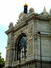 #Cibeles y Banco España (Sergio Camero) Tags: cibeles madrid