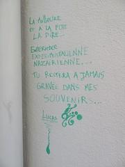 By Lucas (emilyD98) Tags: mots poème citation words nazaire saint st street art insolite rue mur wall