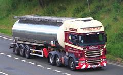 SCANIA R500 V8 - WILLIAM NICOL Aberdeen (scotrailm 63A) Tags: lorries trucks tankers