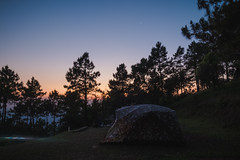 camping ! (Flutechill) Tags: nature tree landscape night outdoors camping forest sky scenics sunset ruralscene dusk tranquilscene nonurbanscene nopeople beautyinnature morning blue mountain sunrisedawn chiangmai thailand