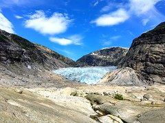 Glacier hiking at Nigardsbreen (Norway) (cherac) Tags: nigardsbreen jostedal glacier hiking