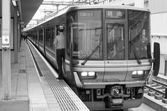 Not in Service (Hideki Iba) Tags: japan jr railway station blackandwhite