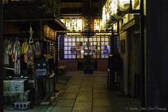 Tradition..., Gion district, Kyoto (Zoltán Melicher) Tags: kyoto kyotoprefecture japan asia gion district sony nex7 zeiss carlzeiss sel1670z travel history tradition architecture building mirrorless night nightscape city street life art variotessarte41670 colourful
