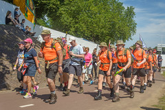orange (stevefge) Tags: nijmegen vierdaagse2017 vierdaagse people candid walkers watchers men women girls waalbrug nederland netherlands nl gelderland orange march street summer