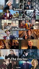 Same software, different case. (Laura Ess) Tags: doctorwho who meme doctor thedoctor