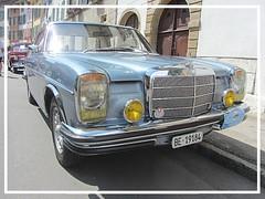 Mercedes-Benz 280 CE (W114), 1973 (v8dub) Tags: mercedes benz 280 ce w 114 1973 schweiz suisse switzerland german pkw voiture car wagen worldcars auto automobile automotive old oldtimer oldcar klassik classic collector