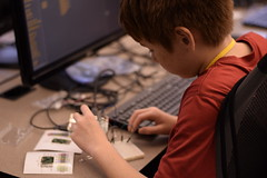 _DSC0789 (Caruth Institute for Engineering Education) Tags: stem programming scratch smu lyleengineering middle school raspberry pi