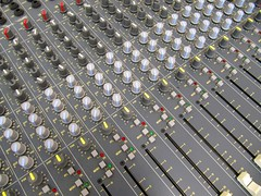 Make Some Noise! (IMHILL) Tags: music mixingdesk noise volume controls dials recording numbers