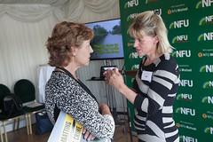 Rebecca Pow MP and Minette Batters (NFU pics) Tags: unitedkingdom gbr nfururalcrimereportlaunch manifesto ruralcrime report houseofcommons july 2017