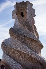 On la Pedrera (Peter J Brent) Tags: casamilà lapedrera barcelona spain