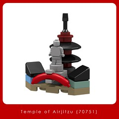 Temple of Airjitzu (70751) (Adeel Zubair) Tags: toys toy legostore legobrandstore moc microscale mini templeofairjitzu 70751 lego