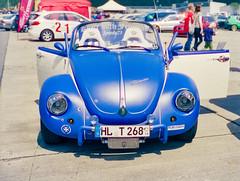 Streetmachine - Thanks for 1K views :-) (Sparkassenkunde) Tags: car beetle käfer volkswagen classiccar convertible cabrio film cinestill cinestillfilm analog analogue mamiya 645 120mm sekorc mediumformat mittelformat buyfilmnotmegapixels ishootfilm sitillshootfilm tuning blue germany deutschland
