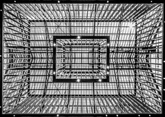 Look Up (mcalma68) Tags: architecture black white rijksmuseum amsterdam