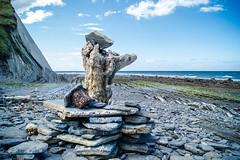 Sakoneta - Itziar (Hanzo STD) Tags: sonyalphaa550 a550 panorama naturaleza basquecountry mar sea water nature flysch piedras rocks deba zumaia itziar