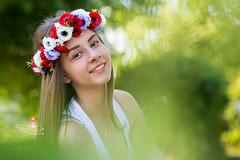 IMG_6970 (Galika_) Tags: teen girl long hair smile sunset sundown summer wreath flower portret memory natural naturallight white green canon 6d 85mm 8518 bulgaria