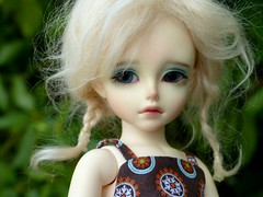 My blue-eyed doll Guillemette tagged by Jane! (Essential Resinescence) Tags: souldoll poupee bjd resin ranbi yosd doll