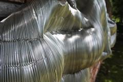DSC_0412 (TonDeg) Tags: wandobject aluminium irisbouwmeester beeldentuinachterdewestduinen