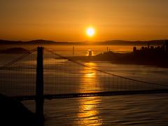 New_Golden_Gate_2 (Lucie_Schulz) Tags: san francisco goldengatebridge thecity california sunset sunrise