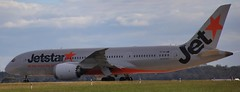 VH-VKI | Jetstar Airways | JQ43 | MEL - DPS | Boeing 787-8 Dreamliner | Melbourne International Airport | (MEL/YMML) (bukk05) Tags: vhvki jetstar jetstarairways jet jetliner jq43 mel dps denpasar ymml melbourne melbourneinternationalairport melymml boeing boeing7878dreamliner qantasfrequentflyer world winter wing explore export engine earth runway taxi tamron tamron16300 tourist travel tourism thrust turbofan tullamarine international photograph photo plane planet aeroplane light holiday indonesia ge generalelectricgenx1b genx1b flickr flight fly flying sky australia air airport aircraft airliner aviation airportgraphy zoom canon60d canon victoria 2017 boeingcommercialairplanes 787 boeing787 alldayeverydaylowfares jetstarairwaysptyltd