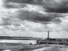 Margate harbour (Tim Ravenscroft) Tags: margate harbour sea sky monochrome blackandwhite blackwhite hasselblad hasselbladx1d x1d
