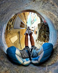 hello #benheinephotography #perspective#gear360 #france #collioure #benheine #fisheye #circle (Ben Heine) Tags: benheinephotography photography composition light smartphone nature landscape beauty beautiful photo photographie art ifttt instagram benheine horizon benheineart