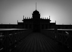 Varberg Essance.....Sea Bath Silhouette (Hildingsson) Tags: bw blackandwhite kallbadhuset varberg svartvitt