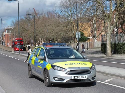 Metropolitan Police Service - BX66HMJ