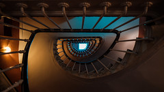 The Eye (Sam-H-A) Tags: spiral stairway france french architecture paris parisian europe colors view summer travel fujifilmxt2 xt2 fujifilm fujinon