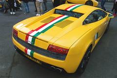 Hard to Find (Beyond Speed) Tags: lamborghini gallardo supercar supercars car cars carspotting nikon v10 yellow london mayfair supercarsunday automobili automotive auto stripes rare