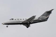 OK-RAH (LIAM J McMANUS - Manchester Airport Photostream) Tags: okrah timeair tie bizz raytheon beechjet be40 bj40 be4 beechjet400 manchester man egcc
