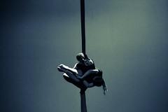 Isolation (kieralee_1712) Tags: cold circus vancouverisland canada arialsilk splittone art portrait people performance dance