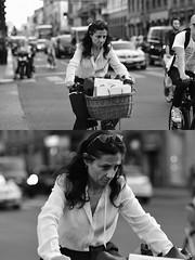 [La Mia Città][Pedala] (Urca) Tags: milano italia 2017 bicicletta pedalare ciclista ritrattostradale portrait dittico bike bicycle nikondigitale scéta biancoenero blackandwhite bn bw 102654