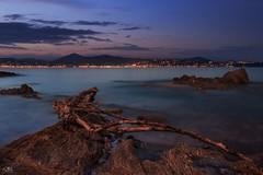 view of St.Tropez (stein.anthony) Tags: langzeitbelichtung longexposure blauestunde nachtaufnahme nightview night nightime nightscape skyscape sky skyline sonnenuntergang sundown steine