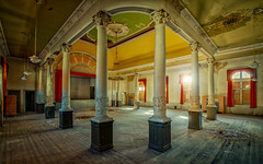 golden ballroom (klickertrigger) Tags: decay abandoned ballroom dust rust urbanexploration urbex lost place golden stefandietze