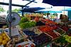 The market in Rovinj