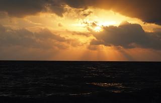 Sunrise Beach Thailand Asia - Sonnenaufgang Strand - (C)