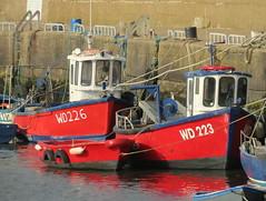 17 07 30 Fishing boats at Carne (pghcork) Tags: fishingboat fishing wexford rosslare sea ireland coast