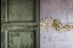 Less Is More II (Giorgio Marra) Tags: urbex photography lost dust darkness decay empty abandoned forgotten italy contrast church door wall canon flickr minimal echoes silence memories dark shadow light indoor less essential detail fotografia abbandono italia