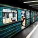 Budapest Metro Carriage