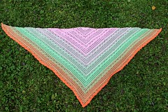 2017.07.31. lost in time shawl 3212m (villanne123) Tags: 2017 crochet shawl wrap cotton souffleyarn lostintimeshawl villanne virkattua virkattu virkattuhuivi
