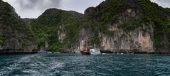 Bahía de Loh Samah, Isla Phi Phi Lee, Tailandia