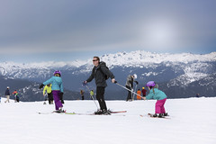 whistler blackcomb (yuanxizhou) Tags: britishcolumbia wilderness nature landscape view amazing wonderful blackcomb whistler sister daughters dad family ski sky mountain
