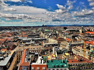 Vienna. Blick vom Stephansdom