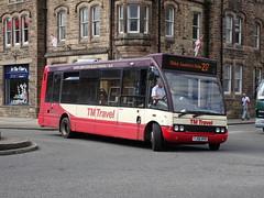 TM Travel 1206 Matlock (Guy Arab UF) Tags: tm travel 1206 yj56wvn optare solo m880 matlock bus derbyshire wellglade group buses wellgladegroup