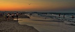 Summernights (gerard eder) Tags: world wasser travel reise viajes water europa europe españa spain spanien valencia malvarrosa beach strand playa beachlife sunset sonnenuntergang puestadesol natur nature naturaleza landscape landschaft paisajes nikon night noche nacht outdoor summer