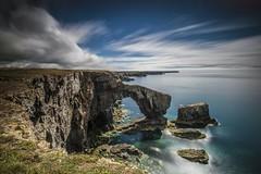 Pont Werdd Cymru (jonnyp-photo) Tags: green bridge wales pembrokeshire long exposure seascape landscape water sea rock arch