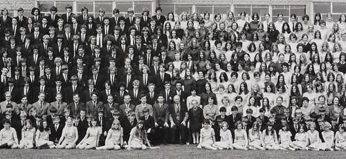 Apsley Grammar School Photo - 1970